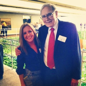 Warren Buffett and I, March 2013