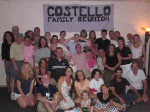 And that's just my dad's side of the family. Reunion  2011.